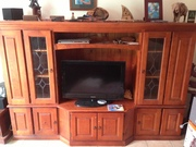 solid timber tv cabinet.....must sell asap