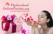 Feel the real pleasure with spell of Flowers and Cakes