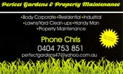 perfect gardens and property maintenance