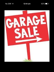 Monster garage sale