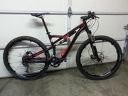 2013 SPECIALIZED CAMBER 29 LARGE BARELY USED FULL SUSPENSION 29ER