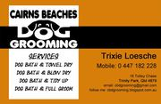 Cairns Beaches Dog Grooming for small and medium sized dogs