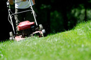 Lawn mowing cairns